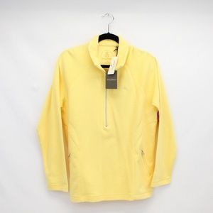 NWT! Tommy Bahama Yellow Active Pullover